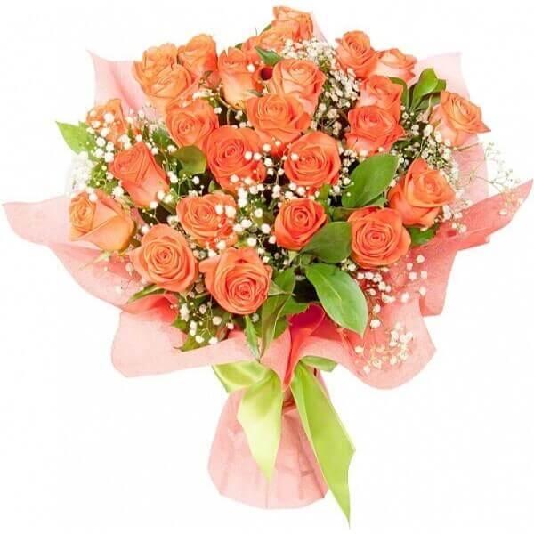 Orandžinės rožės