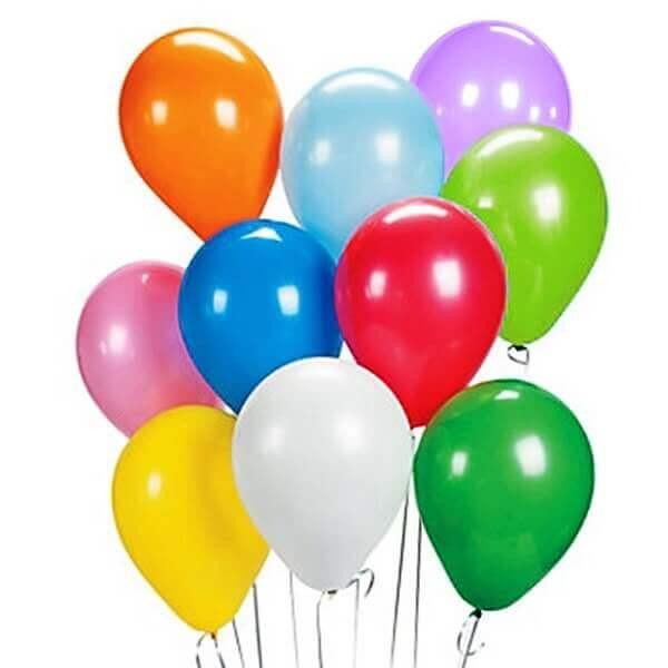 vienspalviai helio balionai