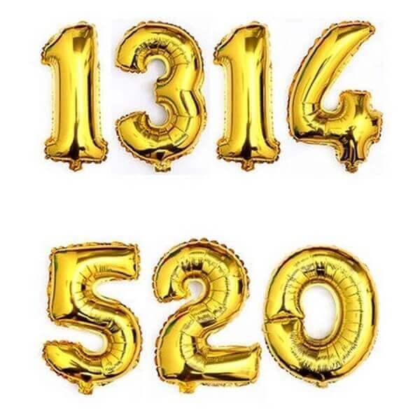 XXL helio balionas skaičius