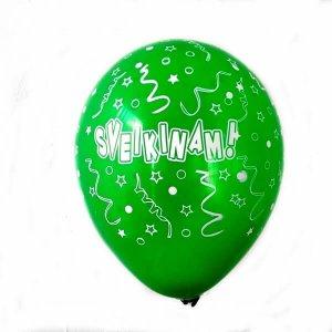 ivairiu spalvu balionai
