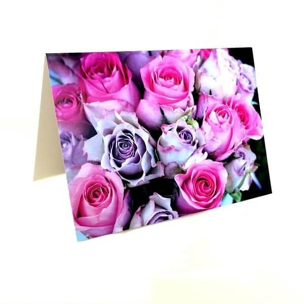 """Atvirukas """"Purpurinės rožės"""""""