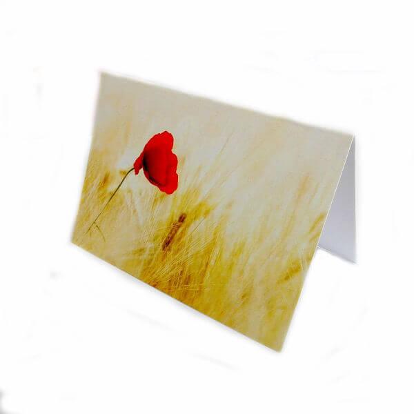 "Greeting card ""Poppy"""