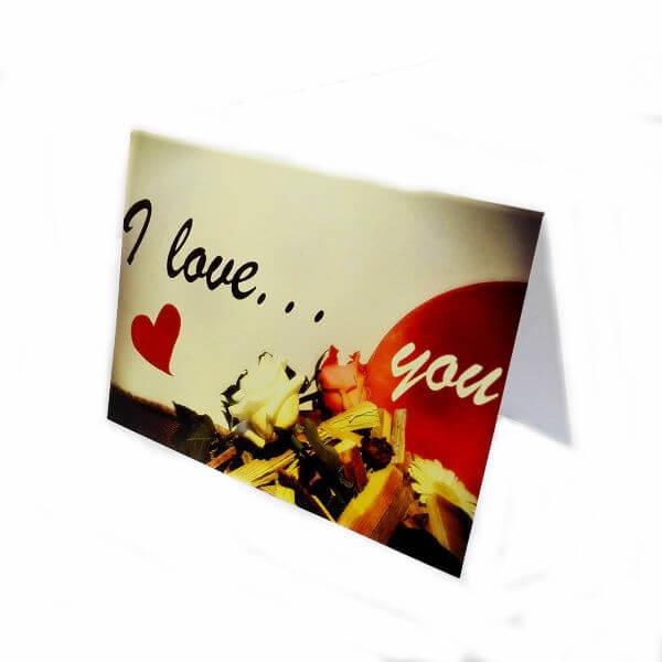 """открытка""""I love you"""""""