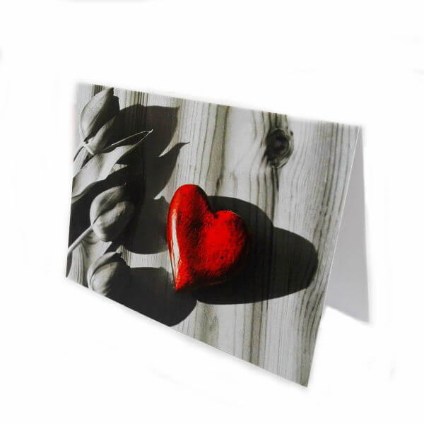 "Greeting card ""Heart"""