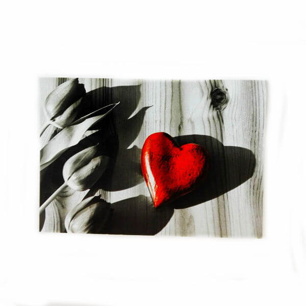 """поздравительная открытка  """"сердце"""""""
