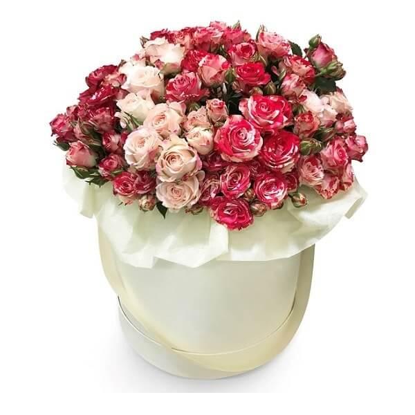 Smulkių rožių dėžutė