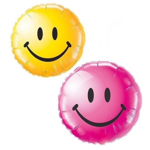 Folinis balionas šypsenėlė