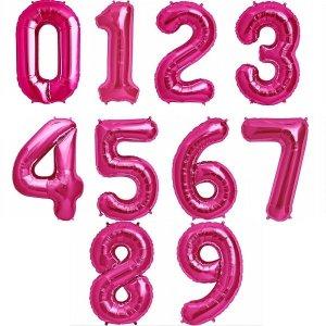розовые числа