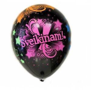 Helio balionas Sveikinam