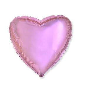 """""""Розовое сердце"""" воздушные шары гелия фольги"""