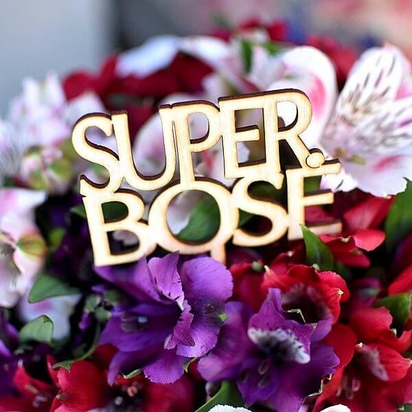 """""""Super Bosė"""" lazdelė į gėlių dėžutės"""