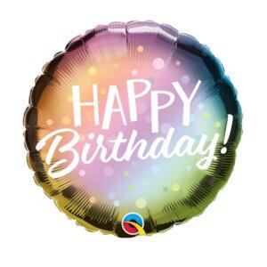 Helio balionai gimtadienio proga